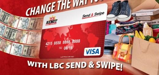 The LBC Send and Swipe Card | Cebu Finest
