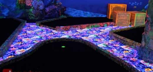 Melvin's Reef Black Light Mini Golf at Crown Regency Hotel Cebu | Cebu Finest