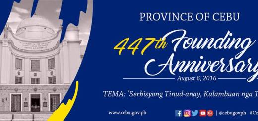 447th Cebu Founding Anniversary: August 6 2016 declared a special non-working holiday | Cebu Finest