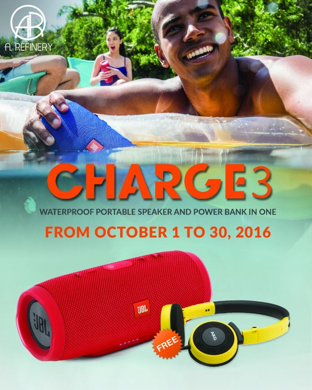A. Refinery Charge 3 October Promo | Cebu Finest