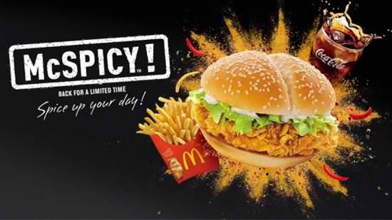 McDonald's brings back the McSpicy to Cebu | Cebu Finest