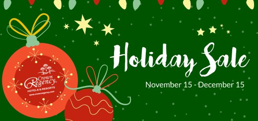 It's a Holiday Sale at Crown Regency | Cebu Finest