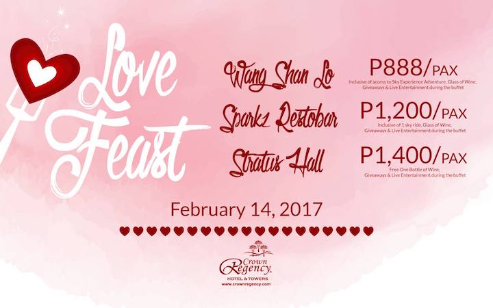 Celebrate Love with Crown Regency's Valentine's Day Promo | Cebu Finest