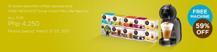 Get a FREE Nescafé coffee machine at Lazada's 5th Birthday Sale | Cebu Finest