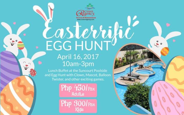 Easter Egg Hunting at Crown Regency Hotel & Towers | Cebu Finest