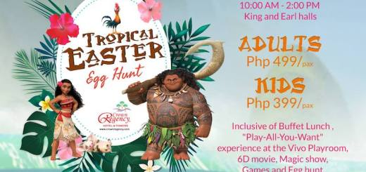 Easter Egg Hunting at Crown Regency Hotel & Towers | Cebu Finest