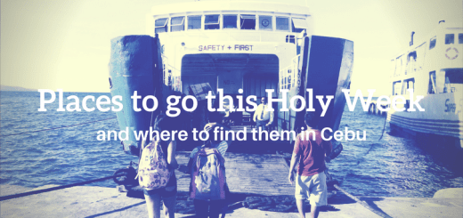 Places to go this Holy Week and where to find them in Cebu   Cebu Finest