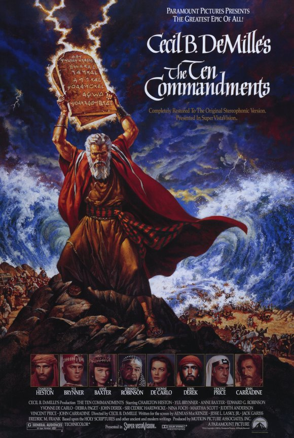 Trivia facts about the 1956 The Ten Commandments movie | Cebu Finest