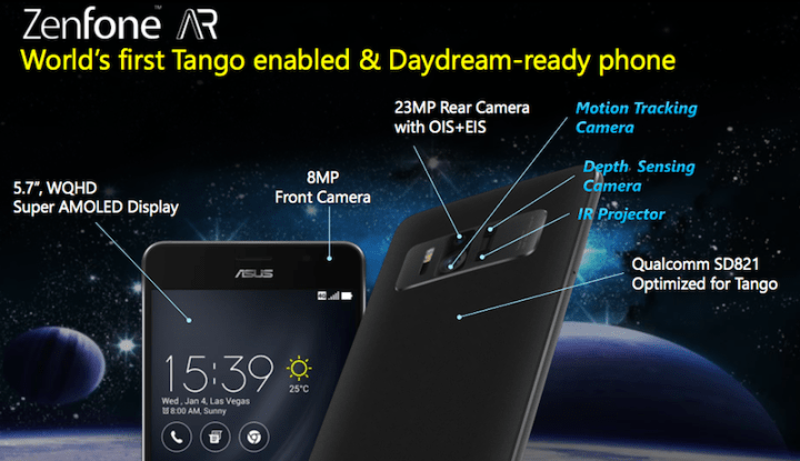 ASUS Zenfone AR is now in PH, world's first 8GB RAM Tango/Daydream-powered smartphone | Cebu Finest