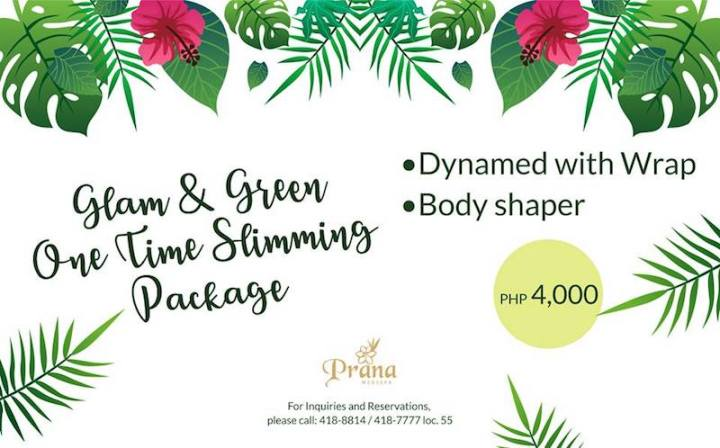 Prana Medispa Green and Glam packages for a healthier glow in you | Cebu Finest