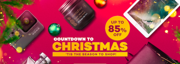 Let's start the Countdown To Christmas with Lazada Exclusive Flash Sale! | Cebu Finest