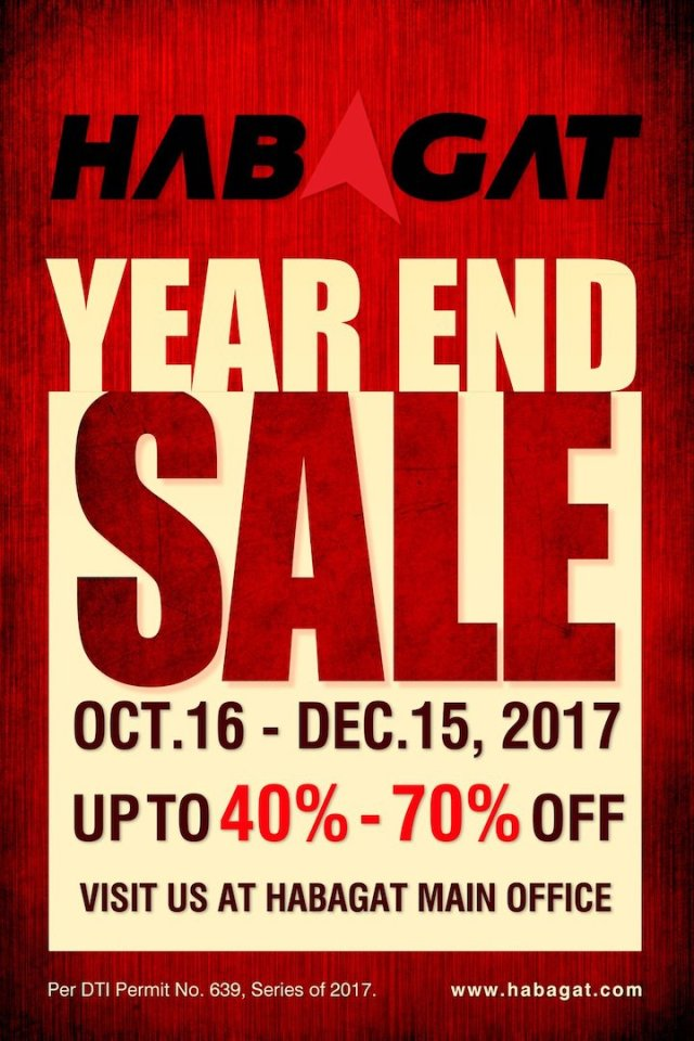 Habagat Cebu End-Of-Season Clearance Sale | Cebu Finest