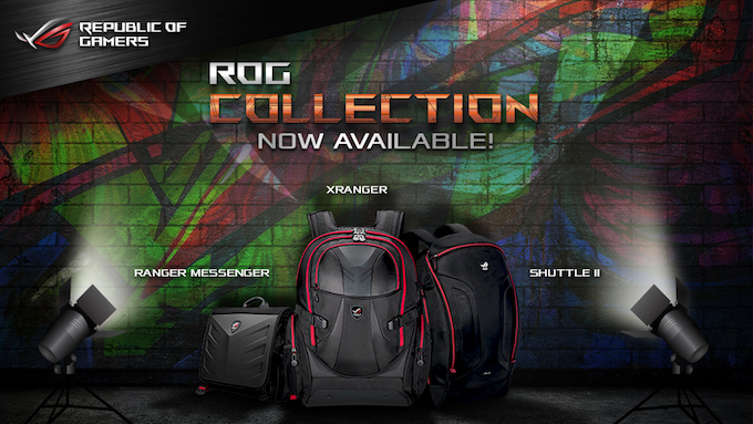 The ASUS Republic Of Gamers introduces Premium Lifestyle Apparel and Bag Collection   Cebu Finest