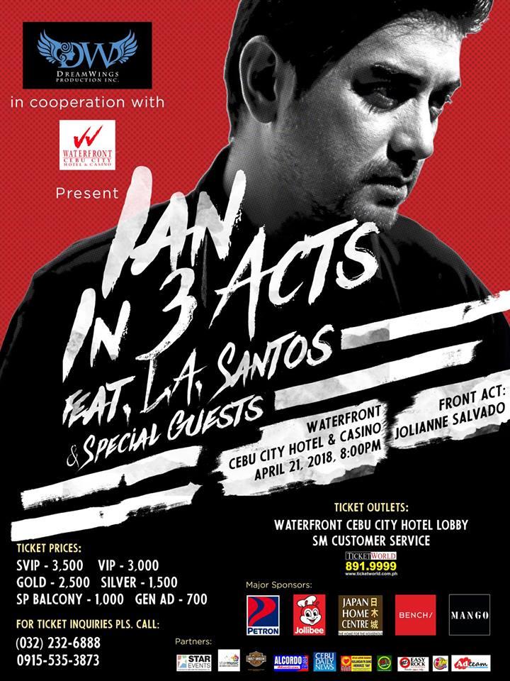 IAN: In 3 Acts, The Ian Veneracion Solo Concert in Cebu | Cebu Finest
