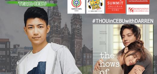 "#THOUinCEBUwithDARREN: KathNeil movie, ""The Hows Of Us"" Block Screening in Cebu with Darren Espanto | Cebu Finest"