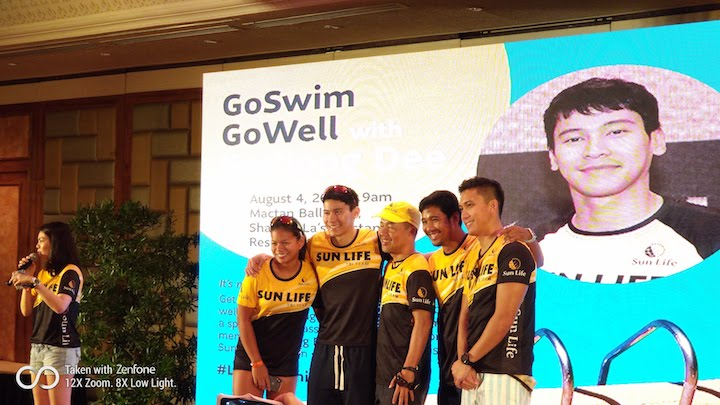 GoWell and Go Fit with Enchong Dee and Sun Life's Wellness Advocacy | Cebu Finest