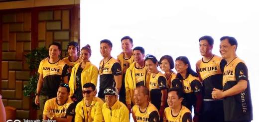 Piolo, Enchong and Sun Life execs to represent the company for Regent Aguila IronMan 70.3 in Cebu | Cebu Finest