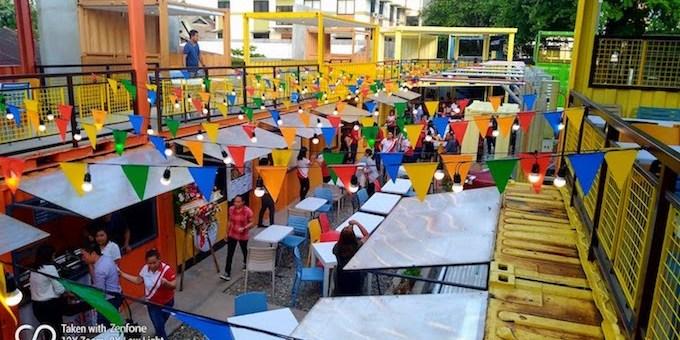 Yello Cube, a new food hub opens in Cebu City   Cebu City