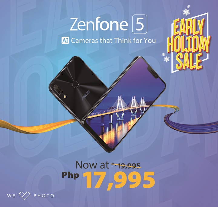 The best gadget to buy now as a gift for Christmas is a ZenFone 5. Here's why... | Cebu Finest