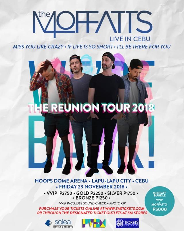 The Moffatts Live Concert in Cebu for Reunion Tour 2018 | Cebu Finest