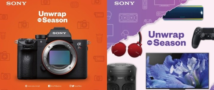 """Sony Philippines goes on sale for the """"Unwrap The Season"""" Christmas Promo   Cebu Finest"""