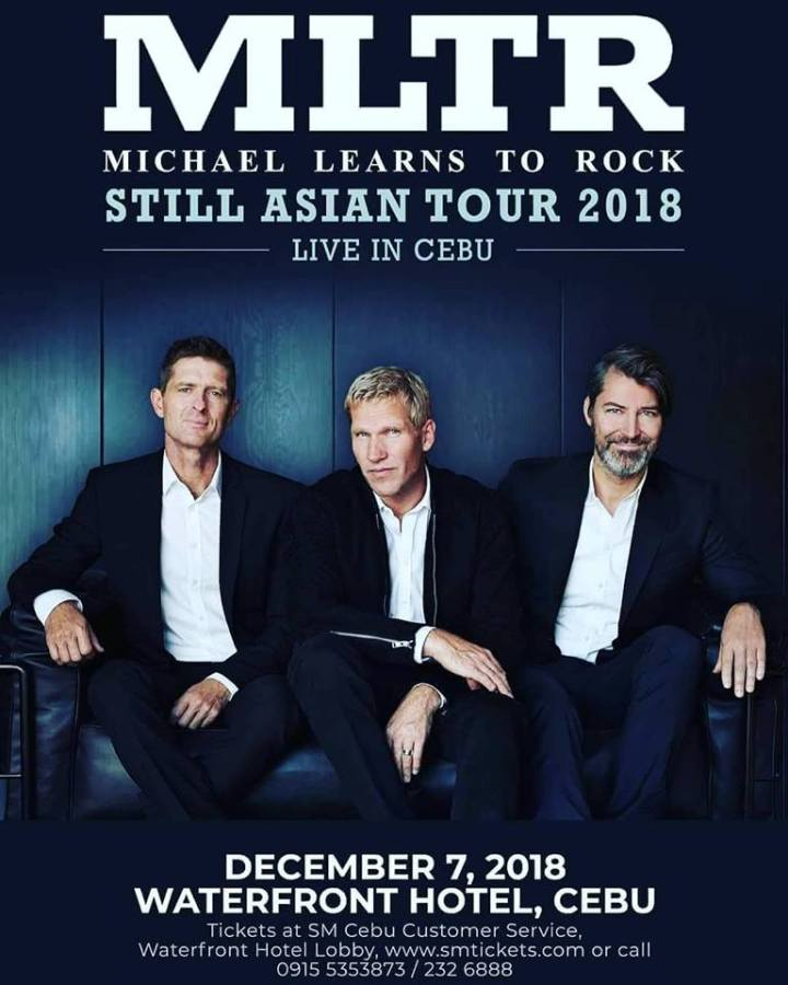 Michael Learns To Rock to hold Still Asian Tour 2018 in Cebu City | Cebu Finest