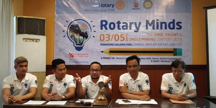 Rotary Minds: The Minds, Talents and Jingle-Making Contest on its 3rd Year   Cebu Finest