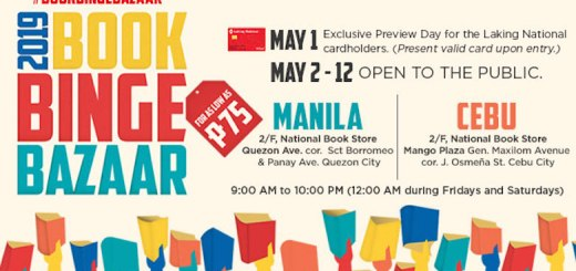 National Book Store brings its Book Binge Bazaar back to Manila and Cebu   Cebu Finest