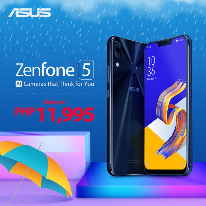 "ASUS Philippines pours in ""Rainy Season Savings"" with new ZenFone 5Z and ZenFone 5 prices! 