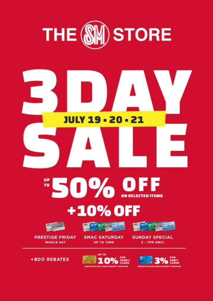 It's the Big SM City Cebu Sale, up to 70% discount starting July 19   Cebu Finest