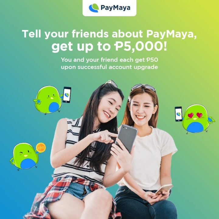 Share the benefits of going cashless with PayMaya and earn up to Php5,000! | Cebu Finest