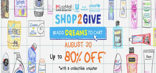 Shop2Give: Unilever Super Brand Day starts midnight! | Cebu Finest