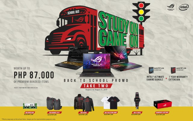 ASUS Republic of Gamers extends Study On Game On Back to School promotion | Cebu Finest