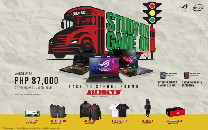 ASUS Republic of Gamers extends Study On Game On Back to School promotion   Cebu Finest