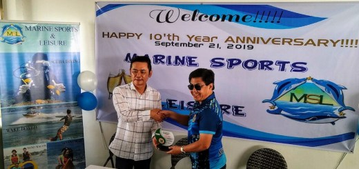Marine Sports and Leisure celebrates 10th anniversary, receives citation award for environmental care | Cebu Finest
