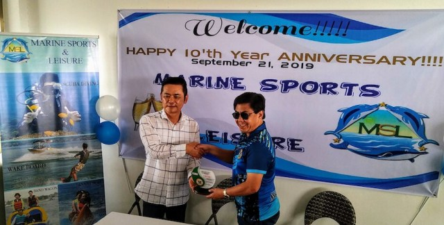 Marine Sports and Leisure celebrates 10th anniversary, receives citation award for environmental care | Cebu Finest