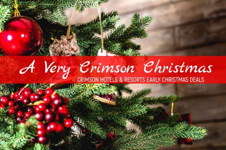 A Very Merry Crimson Christmas: Early Holiday Deals from Crimson Hotels and Resorts   Cebu Finest