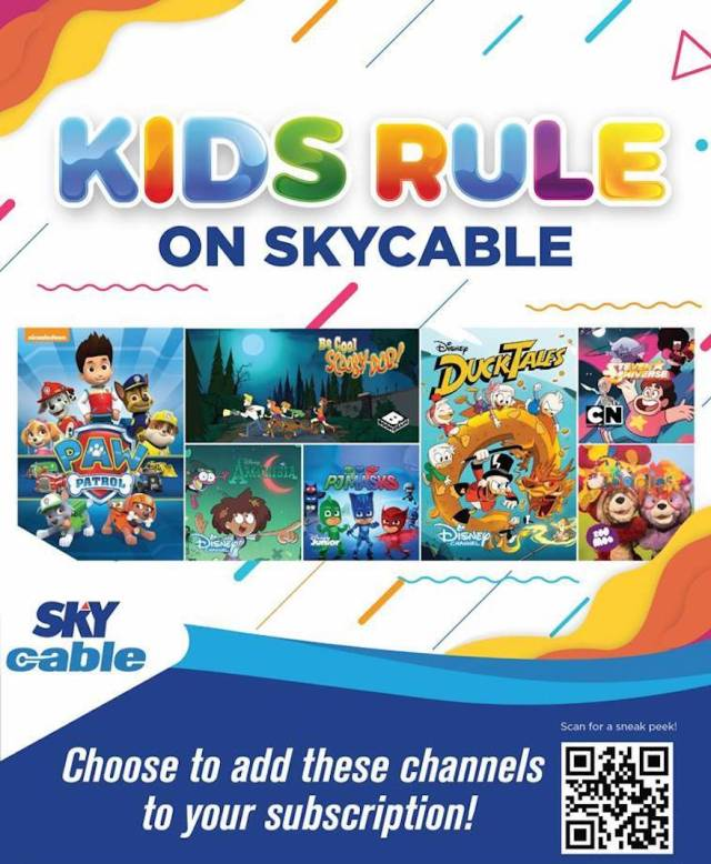 Kids rule with Kids Channels offer on SKYcable! | Cebu Finest