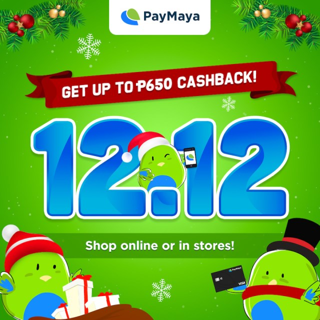 Get the Best Christmas Shopping Deals during the 12.12 Sale with your PayMaya! | Cebu Finest