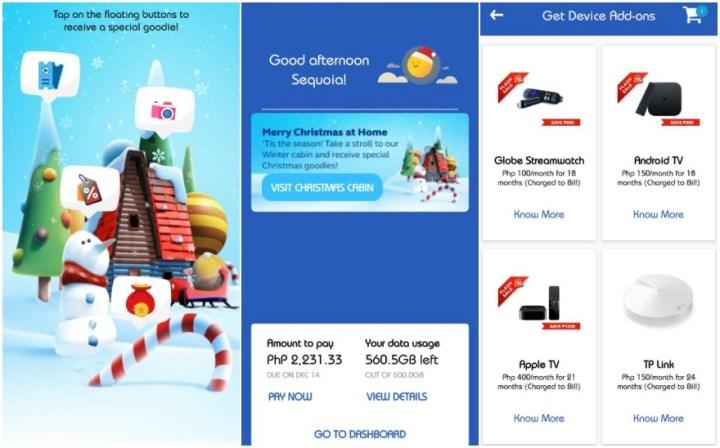 Get great holiday treats via the Globe At Home App! | Cebu Finest