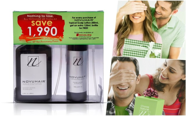 Celebrate a Decade of Choosing Natural with Novuhair and get an extra bottle for free   Cebu Finest
