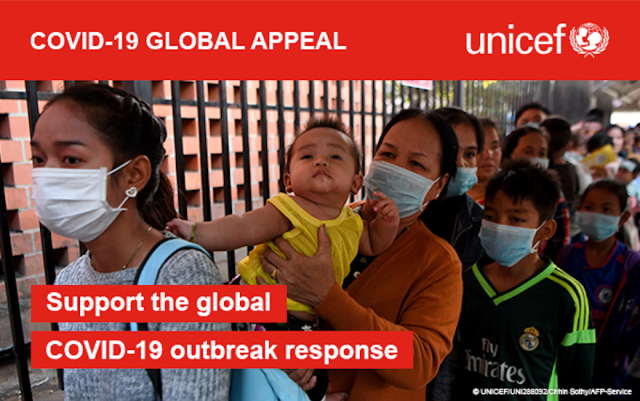 UNICEF responds to COVID-19, appeals to support the global outbreak response | Cebu Finest