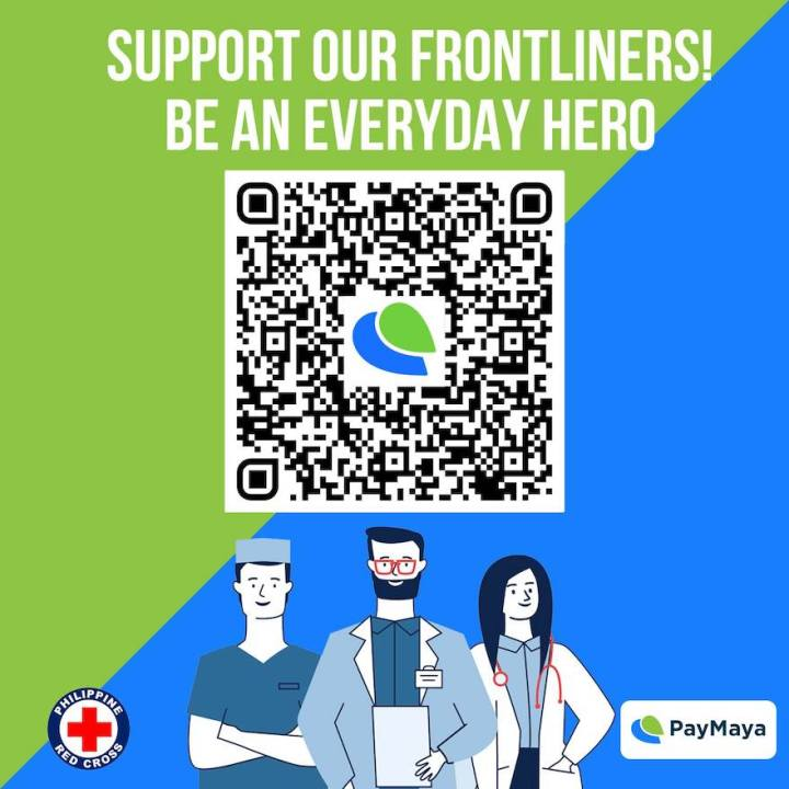 PayMaya accepts donations for humanitarian services via Red Cross QR   Cebu Finest