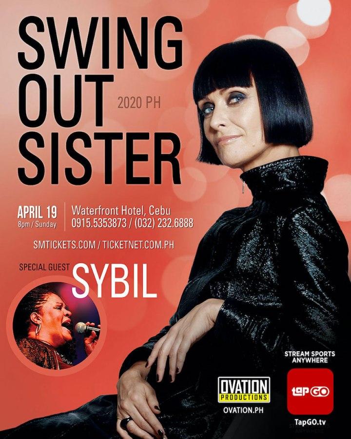 Swing Out Sister Concert in Cebu | Cebu Finest