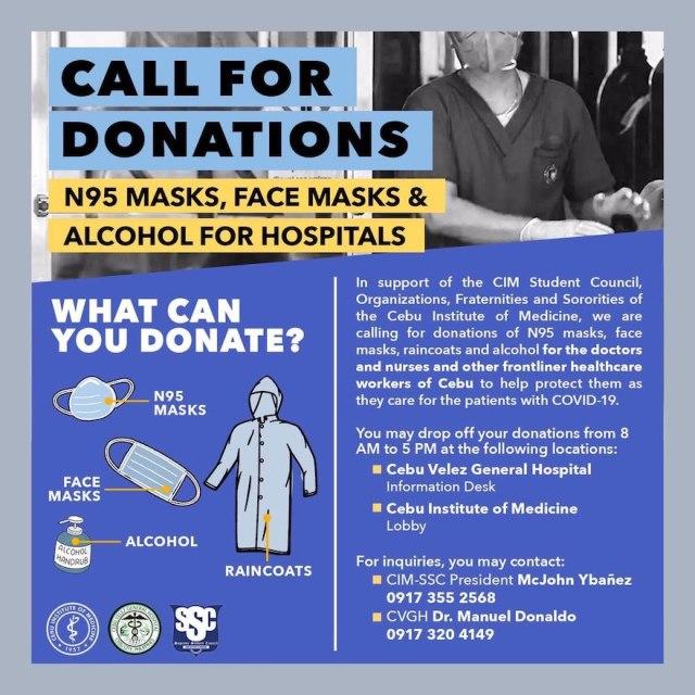 Ways to help your community combat Coronavirus | Cebu Finest