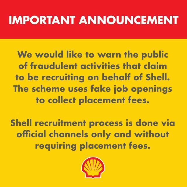 Pagbantay sa recruitment scam -- Shell   Cebu Finest