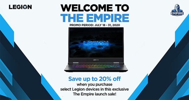 Welcome to The Empire, Lenovo Legion Philippines gaming community | Cebu Finest
