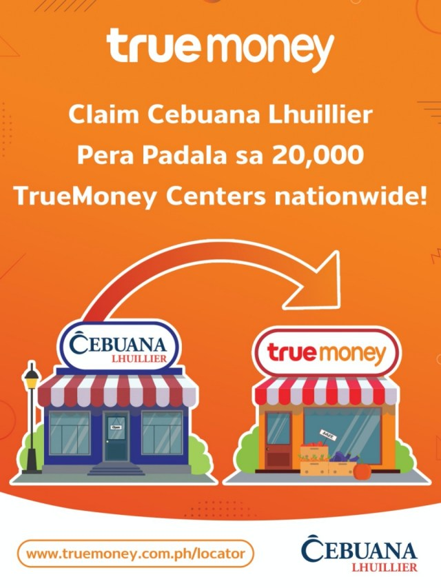 Cebuana Lhuillier and TrueMoney assure the presence of financial services in local communities. | CebuFinest