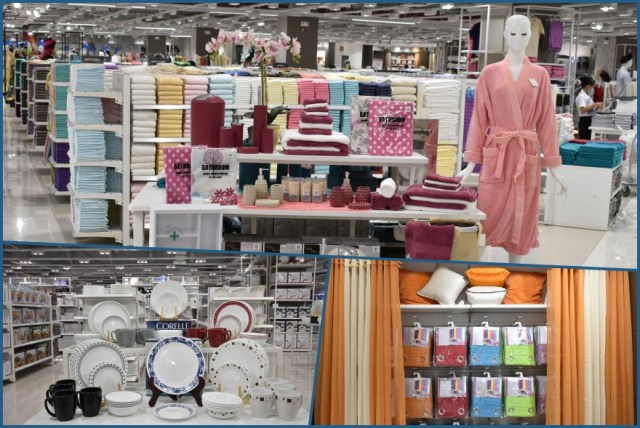 The Houseware section will carry a massive collection of cookware, kitchenware, glassware, and plasticware | CebuFinest