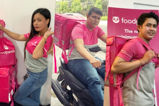 Three Cebuano foodpanda riders keep a part of themselves wherever they go | CebuFinest